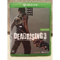 Deadrising 3 Xbox One - Em Português Br - Perfeito Estado
