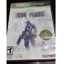Lost Planet Extreme Condition Xbox 360 Original Platinumhits