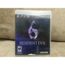 Jogo / Game Ps3 - Resident Evil 6