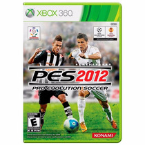Pes 2012 Pro Evolution Soccer Dvd Original Ntsc Xbox 360