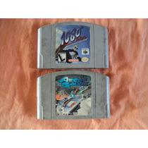Fitas De Nintendo 64 Aerogauge E 1080 Snowboarding Tenheigth