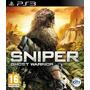 Sniper Ghost Warrior Ps3 Lacrado - Aceito Trocas