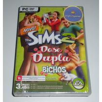 The Sims 2 Base | Dose Dupla Bichos | Jogo Pc | Original