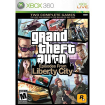 Gta Iv - Episodes From Liberty City Xbox 360 - Lacrado