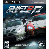 Need For Speed Shift 2 Unleashed Ps3 - Aceito Trocas
