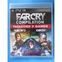 Far Cry Compilation - 3 Jogos - Ps3 - Lacrado Pronta Entrega