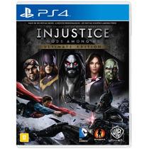 Injustice Gods Among Us (ultimate Edition) Português { Ps4 }