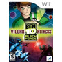 Jogo Nintendo Wii Ben 10 Vigax Attacks