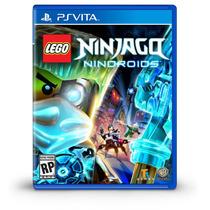 Jogo Novo Lego Ninjago Nindroids Para Ps Vita