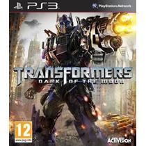 Transformers Dark Of The Moon Ps3 - Aceito Trocas