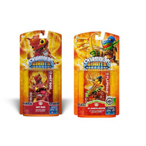 Combo Boneco Skylanders Giants Flameslinger E Hot Dog