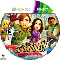 Kinect Adventures Original Xbox 360 Lacrado - Retire Em Sp