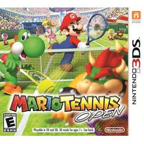 Mario Tennis Open Nintendo 3ds - Frete Grátis