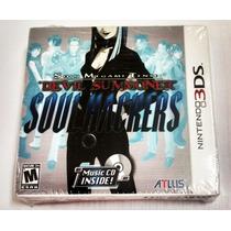 Shin Megami Tensei Devil Summoner Soul Hackers 3ds Com Cd