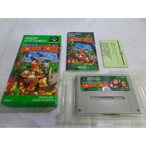 Super Donkey Kong Original Japones Completo P/ Super Famicom
