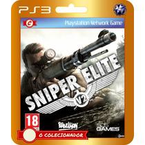 Sniper Elite V2 (código Id Ps3) - Envio Rápido!
