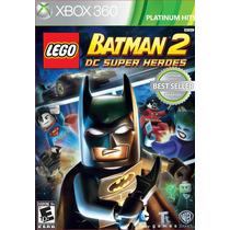 Promoção! Lego Batman 2 - Dc Super Heroes - Jogo P/ Xbox 360