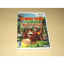 Wii - Donkey Kong Country Returns (americano)
