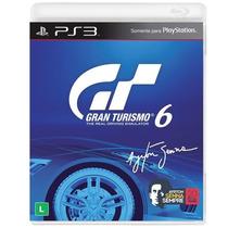 Game Gran Turismo 6 Ps3 Original, Lacrado Midia Fisica