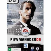 Game Pc Dvd - Jogo Fifa Manager 09 - Ae Esportes - Futebol
