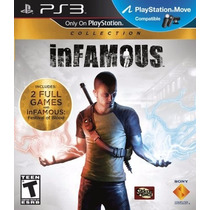 Infamous Collection 2 Jogos Infamous 1 E 2 - Pronta Entrega