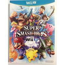 Super Smash Bros For Wii U - Versão Com Luva!!