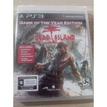 Dead Island Goty Ps3 Novo Lacrado Leia O Anúncio
