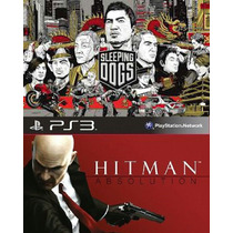 Sleeping Dogs:definitive Edition+ Hitman Absolution Ps3(psn)