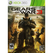 Gears Of War 3 - Perfeito Estado