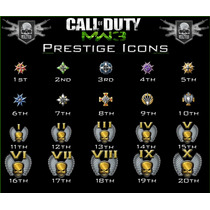 Unlock All Mw3+invisivel+prestige 20+15 Classes Coloridas