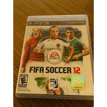 Jogo Fifa Soccer 12 Ps3 Usado - Original Estado De Novo