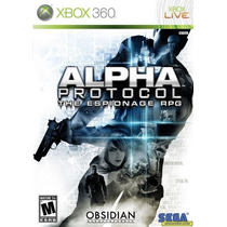 Alpha Protocol The Espionage Rpg - Novo Lacrado