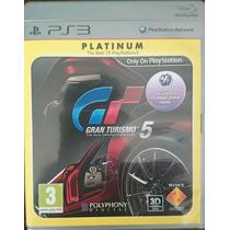 Jogo Gran Turismo 5 Platinum Edition Ps3 Em Português