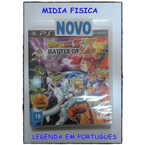 Dragon Ball Z Battle Of Z Legenda Português Mídia Física Ps3