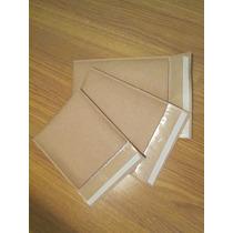 50 Envelopes Com Bolha Papel Kraft 19x25 Cm