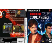 Patch Resident Evil Code Veronica Ps1/ps2