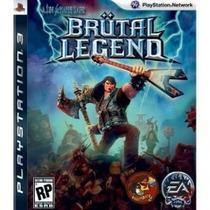 Brutal Legend Ps3 Usado Mídia Física