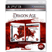 Jogo Dragon Age Origins Ultimate Edition Ps3 Lacrado Nota F.