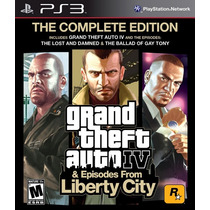 Grand Theft Auto Iv Complete Edition - Ps3 - Novo E Lacrado!