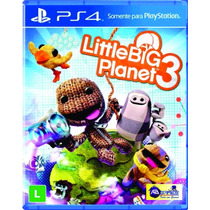 Little Big Planet 3 Ps4 Original Novo Lacrado Ab Games