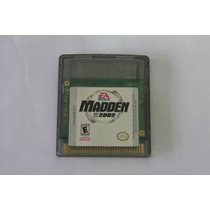 Madden 2002 Original Game Boy Color Gbc