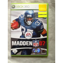 Jogo Xbox 360 Madden 07 Pal Frete Grátis