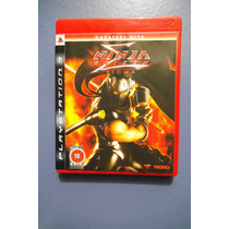 Ninja Gaiden Sigma - Jogo Original Do Ps3 Semi Novo