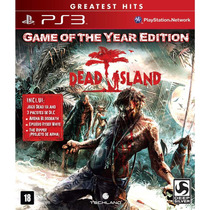 Dead Island Goty Ps3 Jogo Novo Lacrado Original Com Dlc