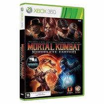 Mortal Kombat 9 Tomplete Edition X360 Original/lacrado/