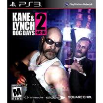 Jogo Ps3 Kane & Lynch 2 Dog Days Original E Lacrado
