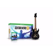 Jogo Guitar Hero Live Xbox One + Guitarra Pré-venda