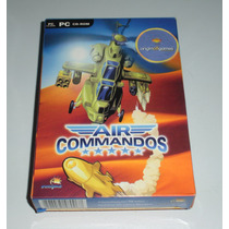 Air Commandos Caixa | Simulador | Guerra | Pc | Original