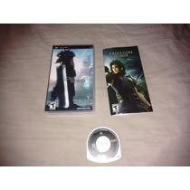 Crisis Core Final Fantasy 7 Original Psp Americaco Aceito Mp