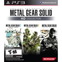 Metal Gear Solid Hd Collection - Jogo Ps3 - Em Disco